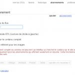 Surveiller un flux RSS et recevoir une alerte mail